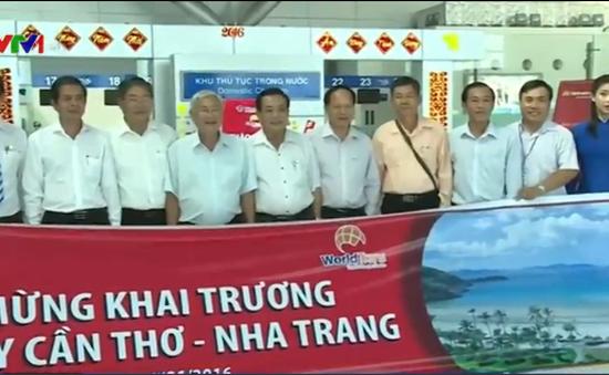 Khai trương đường bay Cần Thơ - Nha Trang