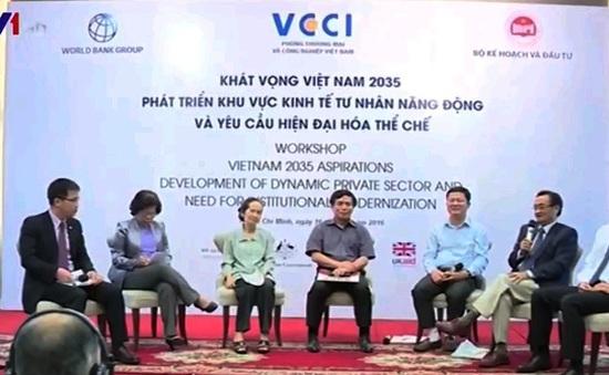 """Hội thảo Khát vọng Việt Nam đề cập nhiều vấn đề """"nóng"""""""