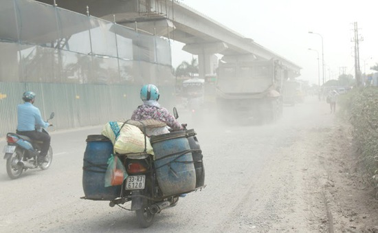 Chất lượng không khí Hà Nội đang xấu đi