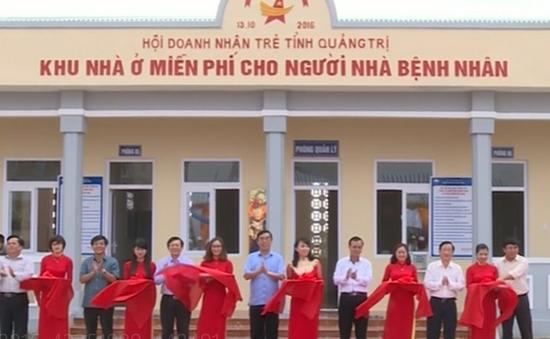 Quảng Trị khánh thành khu nhà ở miễn phí cho người nhà bệnh nhân