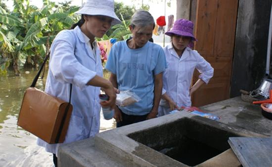 Bộ Y tế khuyến cáo người dân chủ động phòng chống dịch bệnh mùa mưa lũ