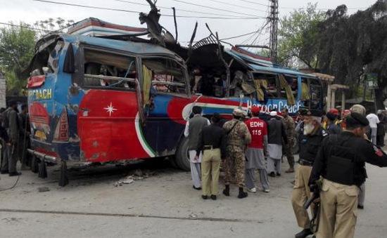 Pakistan: Nổ bom trên xe bus, ít nhất 15 người thiệt mạng