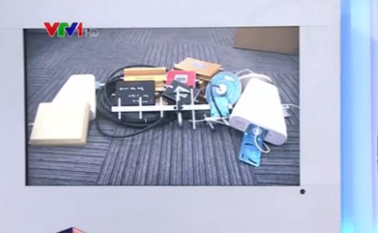 Bán công khai các thiết bị kích sóng, phá sóng di động tại Hà Nội