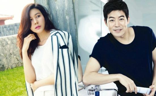 Kim Ha Neul sánh đôi cùng trai đẹp Lee Sang Yoon