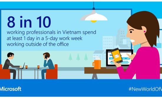 Microsoft: Công nghệ có thể giúp nhân viên làm việc hăng say và hiệu quả hơn