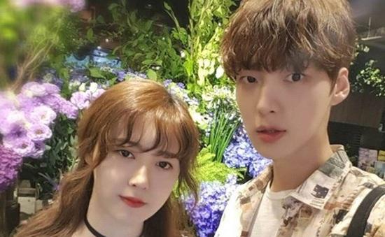 Vợ chồng Goo Hye Sun khoe ảnh sau đám cưới
