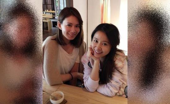 Mang thai 8 tháng, Lâm Tâm Như vẫn đẹp rạng rỡ