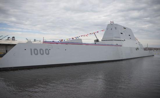 Mỹ khánh thành tàu khu trục công nghệ tiên tiến nhất