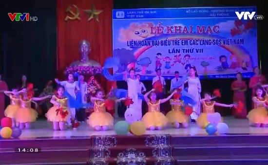Liên hoan đại biểu trẻ em các làng SOS Việt Nam