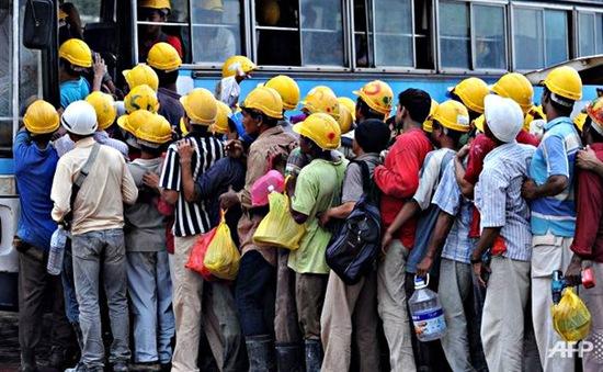 Lao động nước ngoài tại Malaysia giảm mạnh