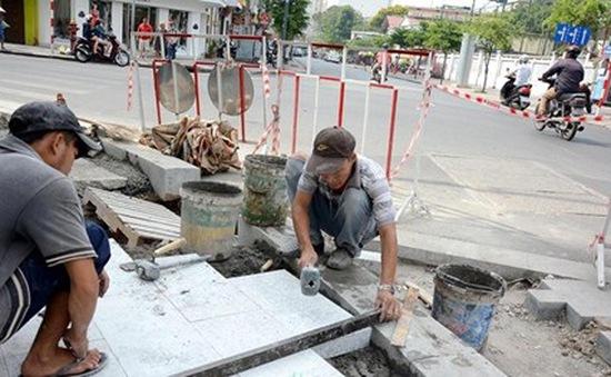 TP.HCM được hỗ trợ 1.000 tỉ đồng lát đá vỉa hè