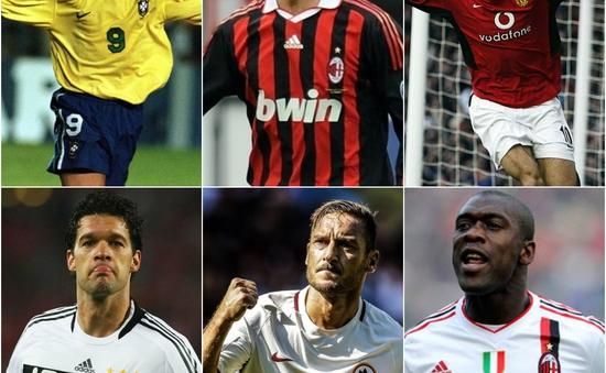 """Đội hình """"đồng niên"""" với Totti: Toàn huyền thoại... giải nghệ"""