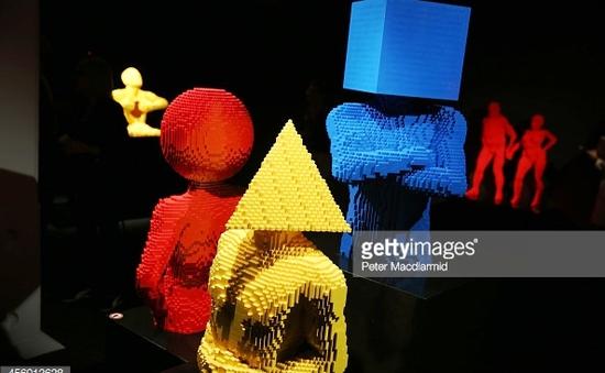 Những tác phẩm nghệ thuật siêu độc từ Lego
