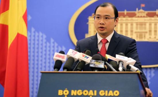 Việt Nam phản đối các hoạt động sai trái của Trung Quốc tại quần đảo Trường Sa