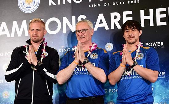 Leicester City được chào đón nồng nhiệt tại Thái Lan