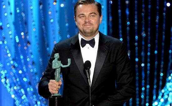 Leonardo DiCaprio giật giải tại SAG Awards