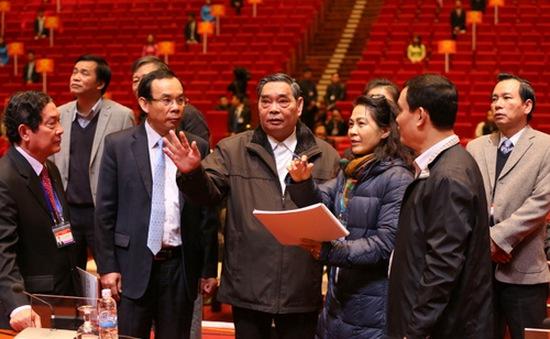Đồng chí Lê Hồng Anh tổng kiểm tra công tác tổ chức phục vụ Đại hội XII