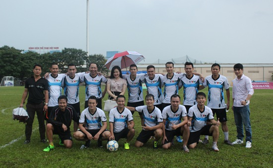 Đội tuyển bóng đá nam VTV lọt vào vòng chung kết Press Cup 2016