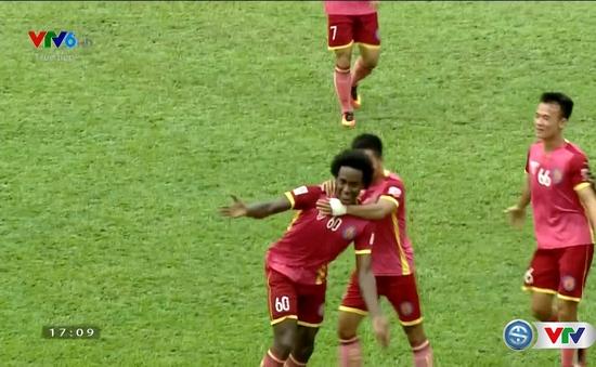 VIDEO V.League 2016: Lima trừng phạt sai lầm của Văn Phú, mở tỷ số cho Sài Gòn