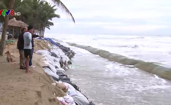 """Ngành du lịch giảm nguồn thu do biển """"nuốt"""" đất liền"""