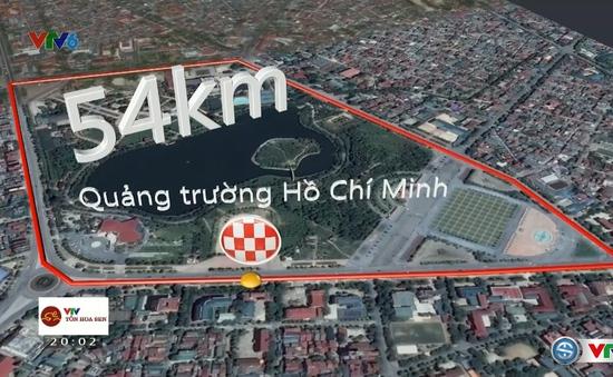 Lộ trình chặng 5 Giải xe đạp quốc tế VTV - Cup Tôn Hoa Sen 2016