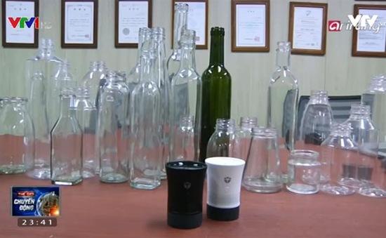 Biến chai thành… loa bluetooth