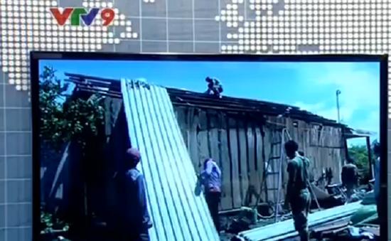 Bình Phước: Lốc xoáy gây thiệt hại lớn