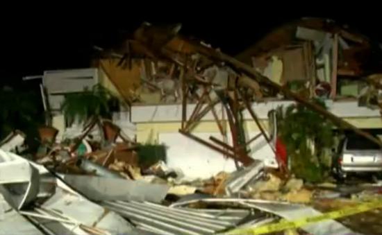 Lốc xoáy ở Florida (Mỹ), 2 người thiệt mạng