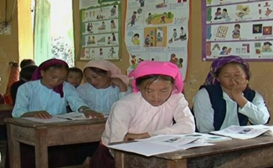 Lớp học đặc biệt dành cho phụ nữ miền núi Hà Giang