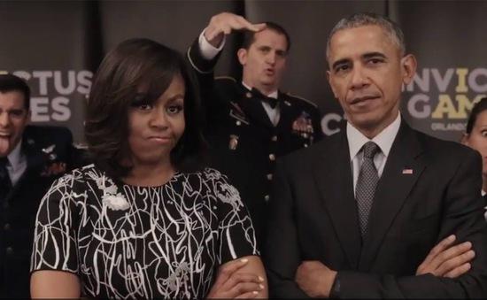 """Vợ chồng Tổng thống Mỹ và Hoàng tử Anh """"thách thức"""" trên mạng xã hội"""