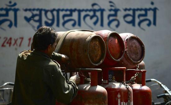 Ấn Độ cung cấp gas miễn phí cho hộ nghèo