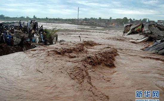 Lũ lụt tại Pakistan, đã có 65 người thiệt mạng