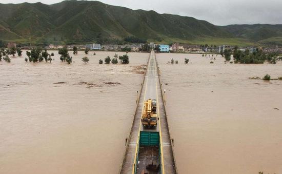 Hàng trăm người dân thiệt mạng do lũ quét tại Triều Tiên