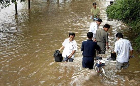 Lũ lụt gây thiệt hại nặng nề ở Triều Tiên