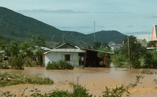 Lũ quét gây nhiều thiệt hại tại Lâm Đồng