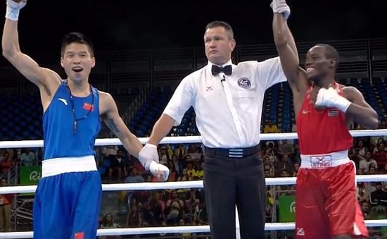 Olympic 2016: Võ sĩ Trung Quốc giơ tay ăn mừng rồi chưng hửng vì nhầm