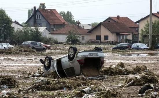 Macedonia ban bố tình trạng khẩn cấp do mưa lũ