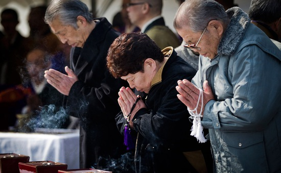 Nhiều hoạt động tưởng niệm 5 năm thảm họa kép tại Nhật Bản