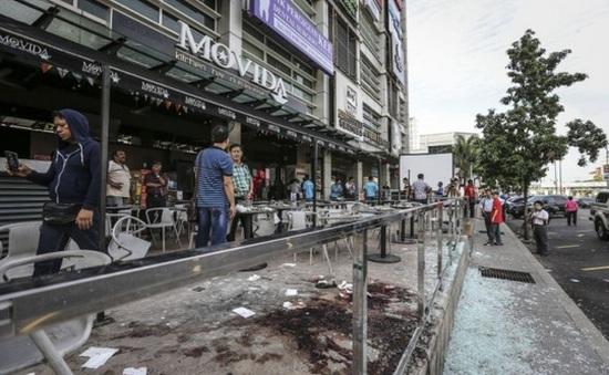 Nổ lựu đạn tại Malaysia, 8 người bị thương