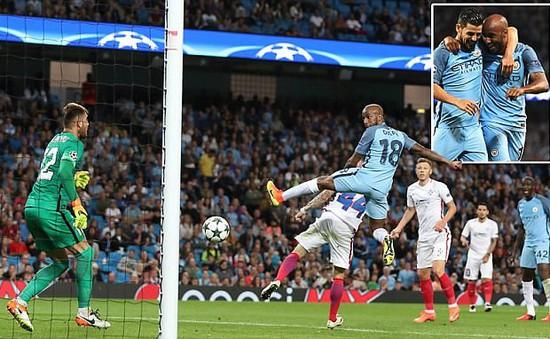Lượt về Play-offs UEFA Champions League: Man City hoàn tất chiến thắng cách biệt!