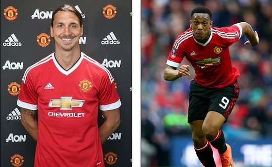 "Tới Man Utd, Ibra ""tranh"" số áo của Martial"