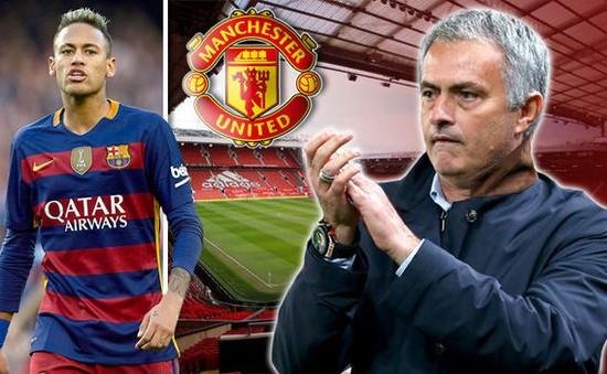 Mourinho muốn Man Utd mua Neymar bằng bất cứ giá nào