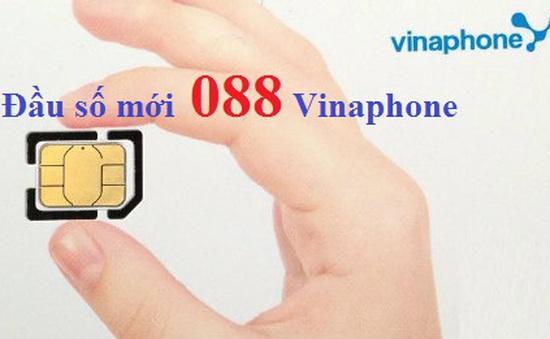 Vinaphone chưa cung cấp đầu số 088, nhiều quầy bán SIM đã rao bán giá cao