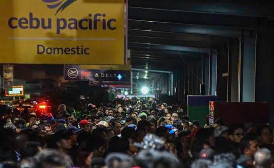 Sân bay Manila mất điện hơn 5 giờ, 78 chuyến bay bị hủy