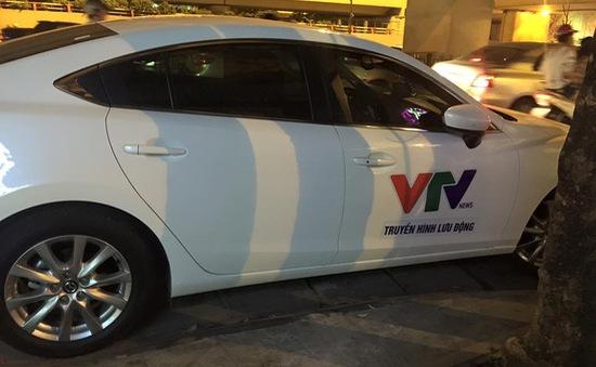Xử phạt đối tượng giả danh phóng viên VTV lưu thông trên đường
