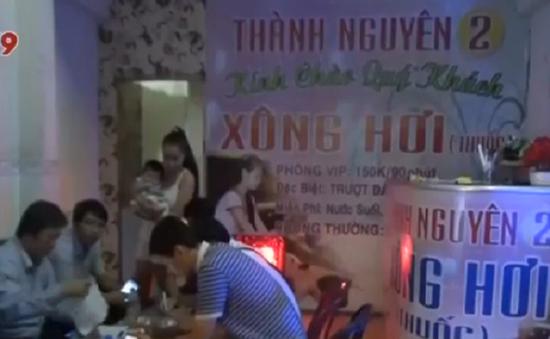 TP.HCM: Phát hiện nhiều sai phạm tại cơ sở massage và karaoke