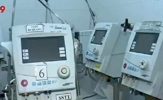 Điều tra vụ 15 máy trợ thở không hoạt động tại Bình Dương