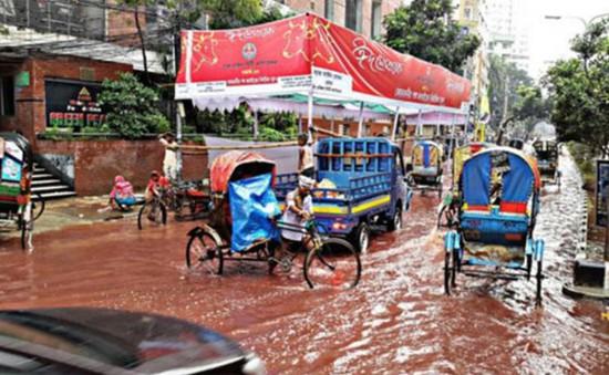 """Thủ đô Dhaka (Bangladesh) chìm trong """"biển máu"""""""