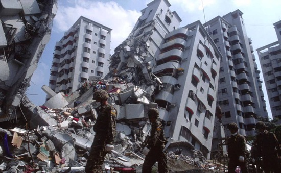 Đài Loan liệt kê 123 công trình vào dạng nguy hiểm sau động đất