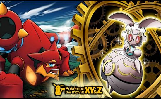 Pokémon the Movie XY&Z: Chuyện tình vượt thời gian giữa Volkenion và Magiana